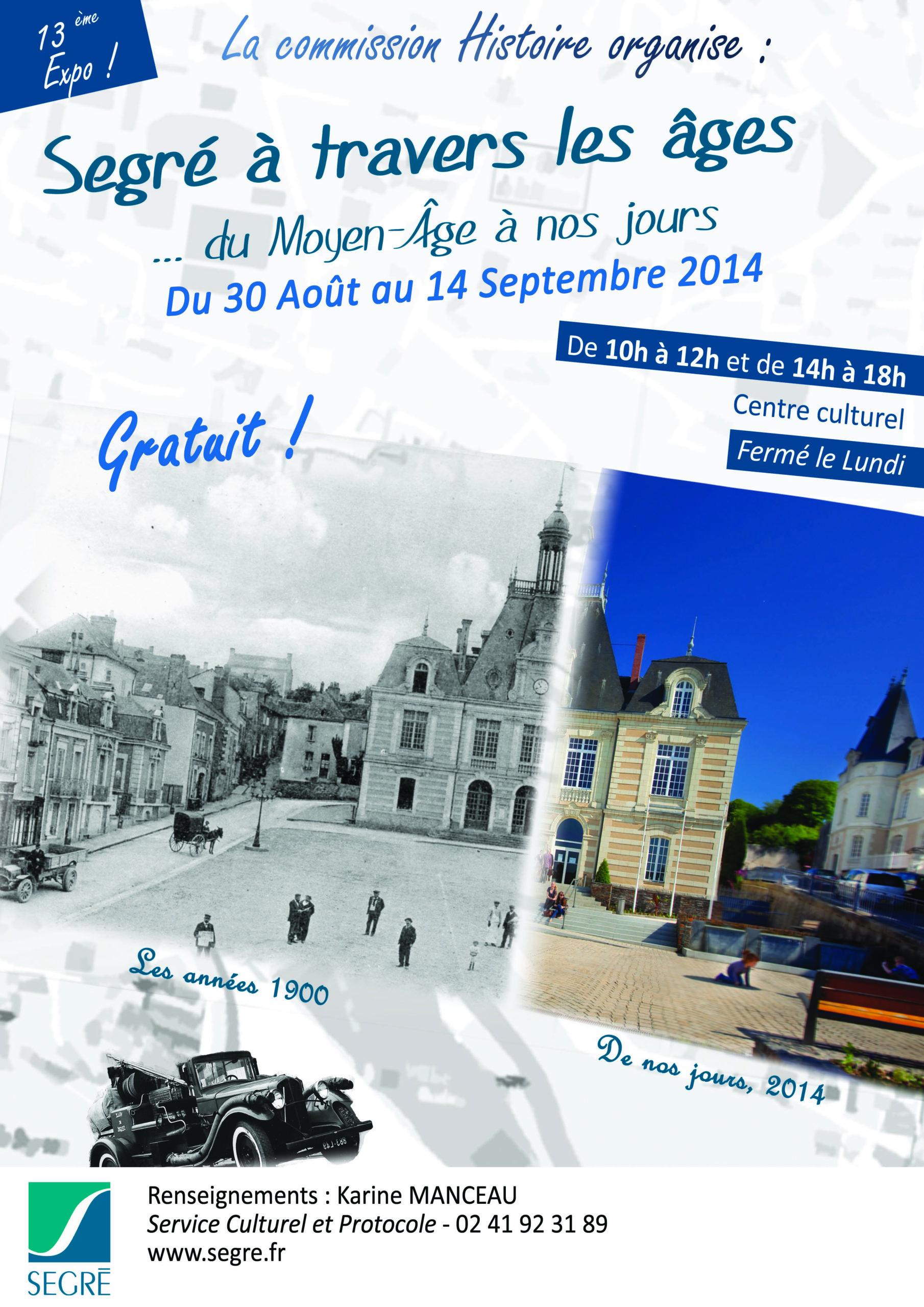 Affiche Commission Histoire 2014